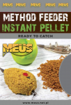 Instant Method Feeder Pellet Meus / Gotowy, namoczony / Hot Dragon / 700 g /